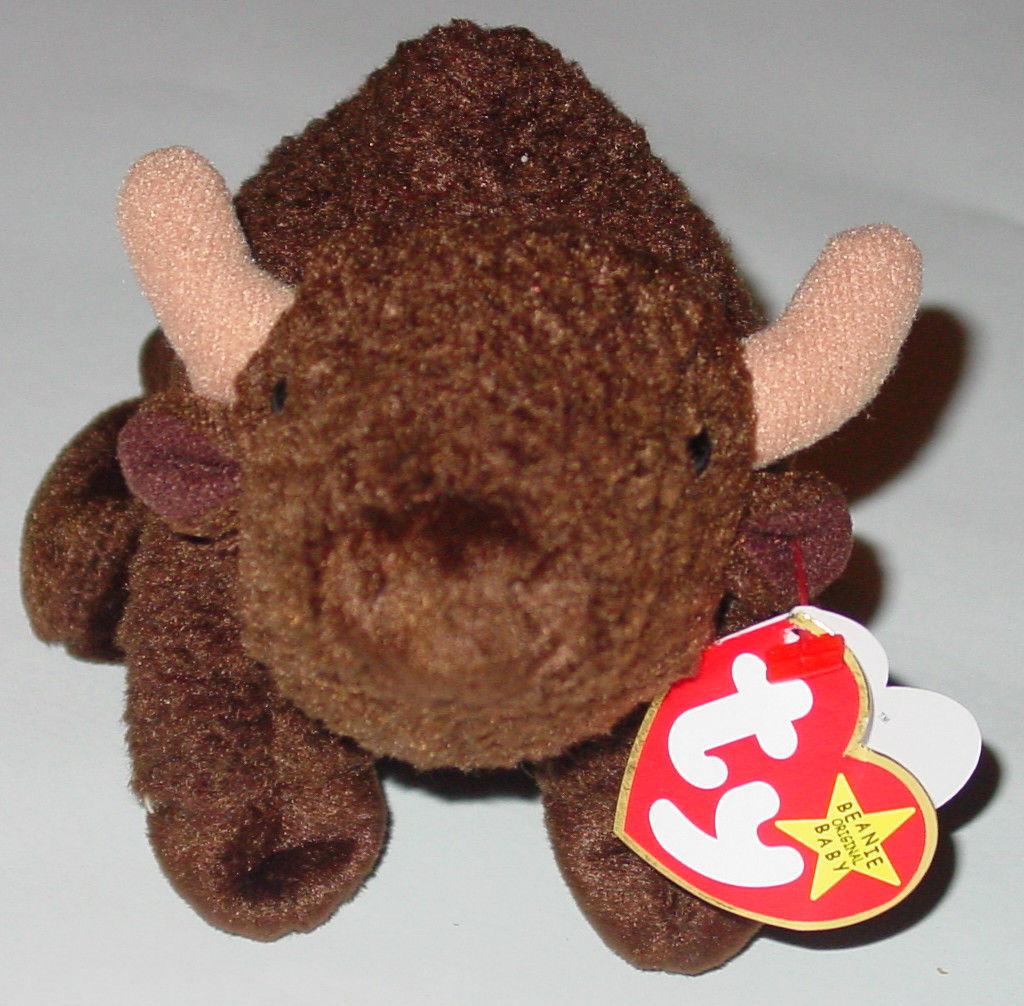 80c8fb4cbd8 Ty Beanie Baby Roam Buffalo Beanbag Plush and 50 similar items