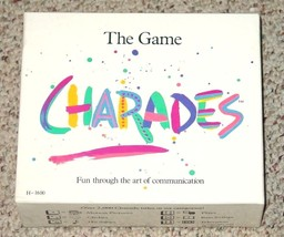 CHARADES GAME 1985 JOHN HANSEN CO COMPLETE EXCELLENT - $15.00