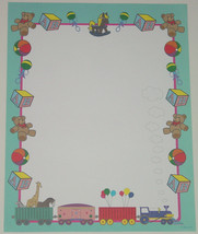 LETTERHEAD COMPUTER STATIONARY GEOPAPER BABY TO... - $4.00
