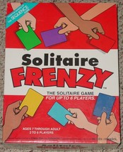 Solitaire Frenzy Game  From Makers Of Sequence 2002 Jax  Excellent Complete - $20.00