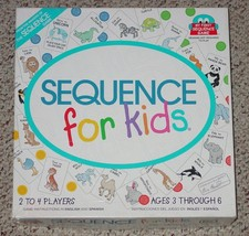 Sequence For Kids Game 2001 Jax Complete - $20.00