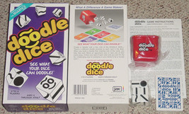 Doodle Dice Game Factory Sealed Parts 2005 Jax Sequence New Complete Excellent - $15.00