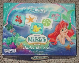 LITTLE MERMAID SPECIAL EDITION UNDER THE SEA CARD GAME 2006 BRIARPATCH C... - $15.00