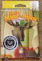 THERES A MOOSE IN THE HOUSE CARD GAME 2004 GAMEWRIGHT COMPLETE EXCELLENT... - $14.00