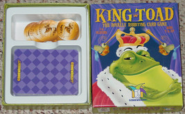 KING TOAD GAME RIBBITING CARD GAME 2008 COMPLETE EXCELLENT LIGHTLY PLAYED - $15.00