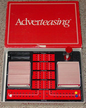ADVERTEASING GAME SLOGANS COMMERICIALS & JINGLES  1988 cadaco COMPLETE e... - $5.00