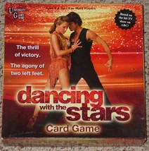 DANCING WITH THE STARS CARD GAME 2008 COMPLETE EXCELLENT LIGHTLY PLAYED - $10.00