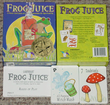 Frog Juice Card Game Spells & Concoctions Gamewright 2003 Complete Excellent - $15.00