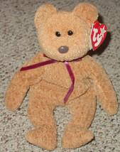 TY BEANIE BABIES Curly Bear #4052 1993 BEANBAG PLUSH - $10.00