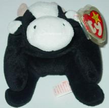 TY BEANIE BABY Daisy Cow beanbag Original TAG 1993 PVC 4th Generation 4006 - $10.00