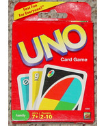 UNO CARD GAME 2009 NEW FACTORY SEALED MATTEL - $10.00