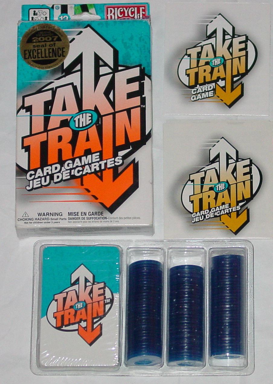 TAKE THE TRAIN CARD GAME *NEW*