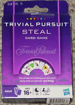 TRIVIAL PURSUIT STEAL CARD GAME PARKER BROTHERS 2009 NEW UNUSED UNOPENED - $20.00
