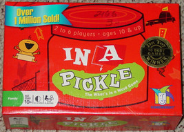 IN A PICKLE WORD GAME 2004 GAMEWRIGHT COMPLETE LIGHTLY PLAYED - $20.00