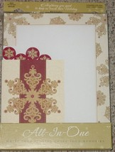 ALL IN ONE STATIONARY KIT MERRY CHRISTMAS MASTE... - $10.00