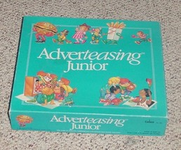 ADVERTEASING JR GAME OF SLOGANS & JINGLES 1989 CADACO.COMPLETE EXCELLENT - $15.00