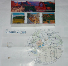 GRAND CIRCLE 60 PIECE TILE MEMORY CARD GAME 5 LANGUAGE TEXT COMPLETE UNP... - $20.00