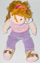 TY BEANIE BOPPERS ROCKIN ROSIE Beanbag plush TAG 2001 PE 00200 - $10.00