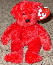 Ty Beanie Baby Sizzle Bear Beanbag Original Tag 2001 Pe 4399 Gen Nine - $10.00