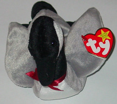 TY BEANIE BABY LOOSY CANADIAN GOOSE beanbag plush 4 OR 5TH GEN TAG 1998 ... - $10.00