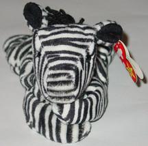 TY BEANIE BABY ZIGGY ZEBRA beanbag plush Original TAG 1995 4 OR 5 GEN 40... - $10.00