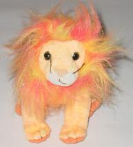 TY BEANIE BABY BUSHY LION beanbag plush TAG 2000  PE 4285 - $10.00