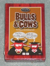 BULLS & COWS CARD CODE BREAKING GAME 2013 UNIVERSITY GAMES FRONT PORCH C... - $10.00