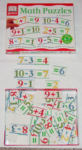Puzzle Math Puzzles Dk Games Math Skills Jigsaw Pieces Early Learning School Exc - $15.00