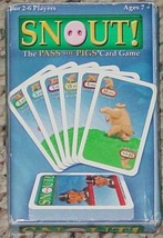 SNOUT PASS THE PIGS CARD GAME 2005 NEW FACTORY SEALED CARD DECK OPEN BOX - $15.00