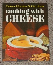 COOKBOOK BETTER HOMES & GARDENS COOKING WITH CHEESE COOK BOOK 1971 HC ME... - $6.00