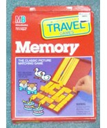 MEMORY GAME TRAVEL MEMORY PICTURE MATCHING GAME 1989 MILTON BRADLEY NEW COMPLETE - $12.00