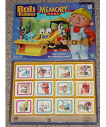 MEMORY GAME BOB THE BUILDER MATCHING PICTURE CARDS 2000 hasbro EXCELLENT UNUSED - $10.00