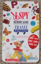 I SPY MEMORY GAME TRAVEL EDITION TIN  BRIARPATCH 2010 COMPLETE UNPLAYED - $20.00