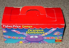 DOMINOES OCTOPUS DOMINO GAME 1996 FISHER PRICE GAMES COMPLETE EXCELLENT - $12.00