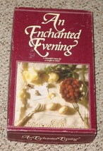 AN ENCHANTED EVENING DATE NIGHT GAME FOR A adult COUPLE TO SHARE 1989 - $12.00