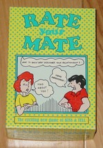 RATE YOUR MATE CARD GAME 1994 KELLEY PRODUCTIONS COMPLETE - $15.00