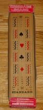 CRIBBAGE STANDARD CRIBBAGE HARDWOOD BOARD GAME #112 CRESTLINE EXCELLENT - $12.00
