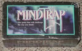 Mindtrap Party In A Box Challenging Puzzle Game 1996 Pressman Complete Excellent - $10.00