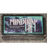 MINDTRAP PARTY IN A BOX CHALLENGING PUZZLE GAME 1996 PRESSMAN COMPLETE E... - $10.00