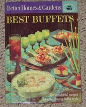 COOKBOOK BETTER HOMES & GARDENS BEST BUFFETS COOK BOOK 1963 HC - $6.00