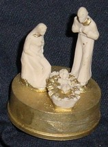 ORNAMENT NATIVITY MINIATURE CELLULOID MADE IN ITALY - $4.00