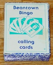 Beantown Bingo Calling Cards Complete Excellent - $5.00