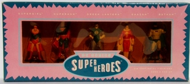 DC Comics Super Heroes 5 Die Cast Metal Figurines Superman Shazam Batman GL - $34.95