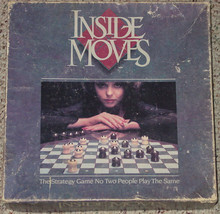 INSIDE MOVES STRATEGY GAME 1985 PARKER BROTHERS COMPLETE - $12.00