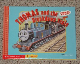 BOOK LOT OF 4 THOMAS & FRIENDS 2 BOOKS IN ONE HARDCOVER BOOKS REV AWDRY ... - $8.00