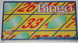 BINGO GAME FUNDEX GAMES 1999 NEW FACTORY SEALED BOX - $5.00
