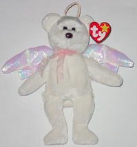 TY BEANIE BABY HALO beanbag plush Original TAG '98 ANGEL BEAR PE 4208 GEN 5 - $10.00