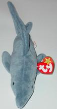TY BEANIE BABIES Crunch Shark #4130 1996 BEANBAG PLUSH - $10.00