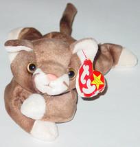 TY BEANIE BABY POUNCE CAT beanbag plush Original TAG 1997 PE 4122 GEN 5 - $10.00