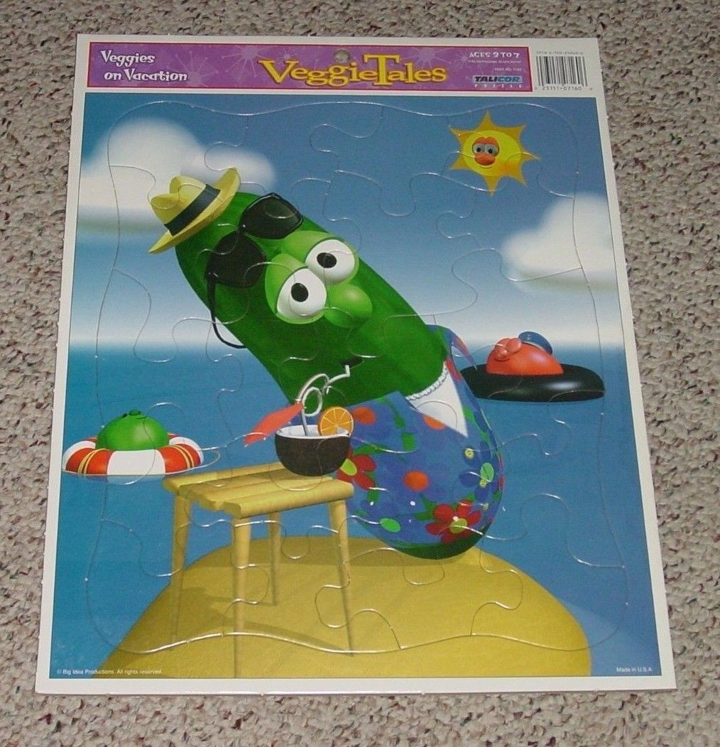 Puzzle Veggies On Vacation Puzzle Veggie And 50 Similar Items